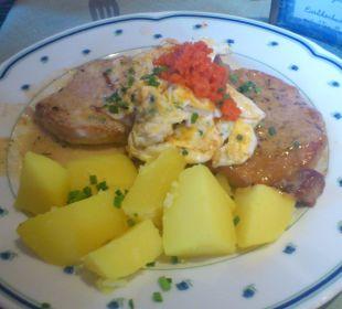 Abendessen Gästehaus Watzmannblick