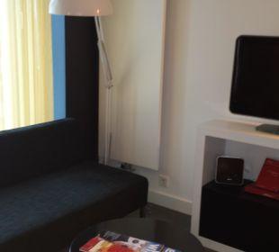 Sofa Adina Apartment Hotel Berlin Hackescher Markt