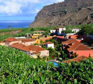 Hacienda inmitten von Bananen Hotel Hacienda de Abajo
