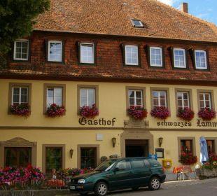 Frontansicht Hotel Schwarzes Lamm Hotel Schwarzes Lamm