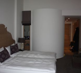 Geniales Bad mit Runddusche Hotel Exquisit