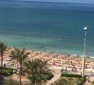 Blick vom Zimmerbalkon Hotel Playa Golf