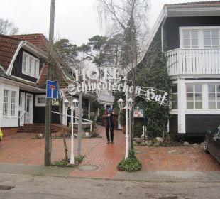 Haupteingang mit Rezeption Hotel Im Schwedischen Hof