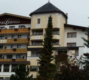 5 Sterne von Außen und Innen. Hotel Cervosa