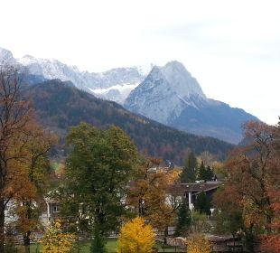 Ausblick aus dem Zimmer Mercure Hotel Garmisch Partenkirchen