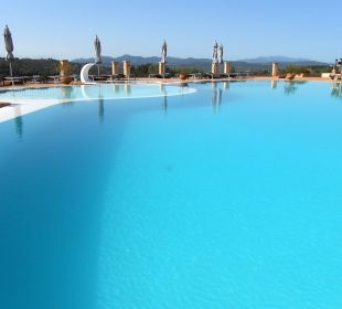 Pool mit Weitblick Hotel Parco Degli Ulivi