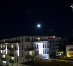 Ausblick mit Vollmond Steigenberger Grandhotel and Spa