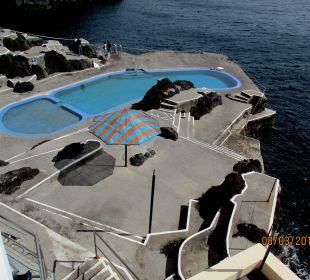 Pool am Meer, kostet Eintritt Galo Resort Galosol