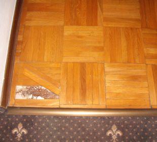 Parkettboden im Zimmer Hotel Traube