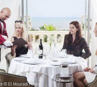 Restaurant à lacarte Hotel El Mouradi Palm Marina