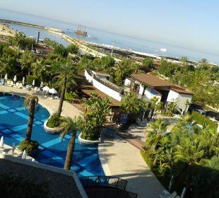 Ausblick vom Zimmer Nr.4309 Sunis Hotel Evren Beach Resort & Spa