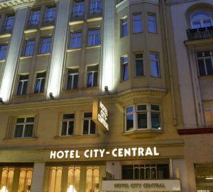Aussenaufnahme Hotel City Central