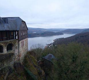 Zimmer mit Seeblick Hotel Schloss Waldeck