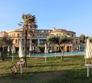 Außenansicht Hotel Baia Caddinas