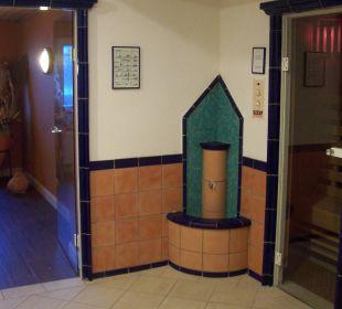Saunavorraum KurparkHotel Warnemünde
