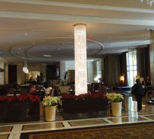Blick auf das Restaurant Hotel Trump International