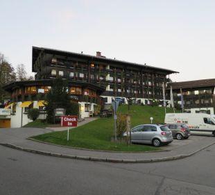 Außenansicht Treff Alpenhotel Kronprinz