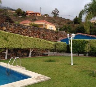 Pool und Liegebereich Villen Los Lomos