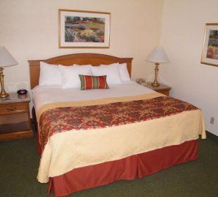 Blick auf das Bett Best Western Hotel A Wayfarer's Inn