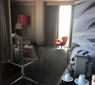 Vorzimmer Hotel Novotel Barcelona City