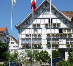 Parkplatz und Hotel Hotel Appenzellerhof
