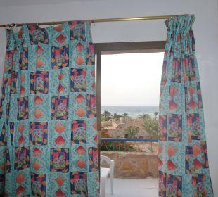 Aussicht vom Bett,mit Blick aufs Meer Hotel Utopia Beach Club