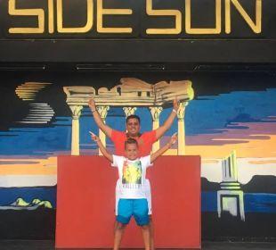 Side Sun Bühne Hotel Side Sun
