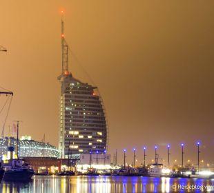 Auch bei Nebel schön Atlantic Hotel Sail City