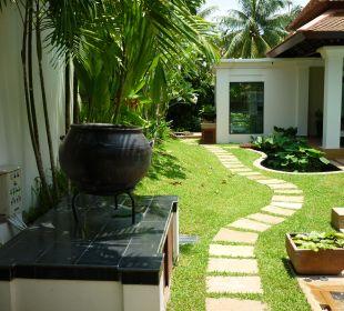 Blick im Garten Hotel Banyan Tree Phuket