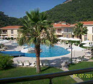Schöner Blick vom Zimmer Hotel The One Club