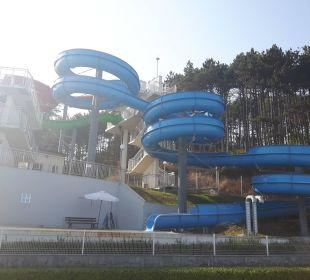 Große Wasserrutschen  Sol Luna Bay & Mare Resort