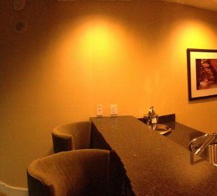Wohnzimmer mit Küche Hotel Trump International