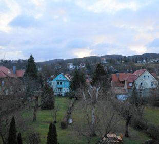 Blick aus unserem Hotelfenster Wellnesshotel Jagdhaus