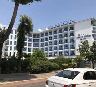 Außenansicht Hotel Grand Zaman Beach