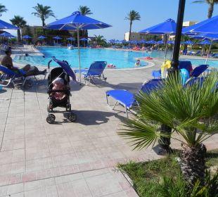 Großer Pool daneben Hotel Horizon Beach Resort