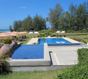 Treppenartig angelegter Pool Khao Lak Riverside Resort & Spa
