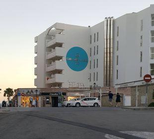 Das HHotel von aussen Olimarotel Gran Camp de Mar