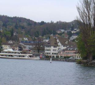 Mit dem Schiff zum Hotel Romantik Seehotel Sonne