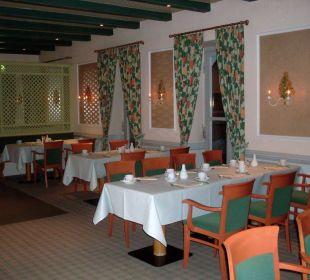 Das Hotelrestaurant Hotel Jodquellenhof Alpamare (Hotelbetrieb eingestellt)