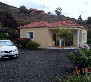 Vordere Terrasse und Eingangsbereich Villen Los Lomos