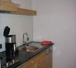 sehr kleine Küche Landhaus Schloss Anras