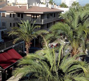 Vom Balkon aus 3. Stock zi315 JS Hotel Sol de Can Picafort