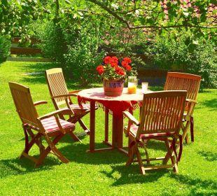 Gartenbild Gästehaus Wineberger
