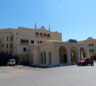 Außenansicht Hotel Grecotel Eva Palace