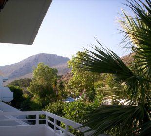 Blick vom Apartment Hotel Karavos