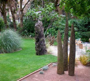 Gartenansicht K+K Hotel George