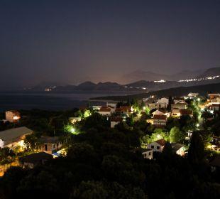 Ausblick bei Nacht in Utjeha Ferienwohnung Utjeha.me