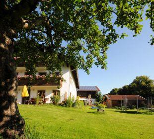 Blick auf den Wimmerhof in Ising im Chiemgau Wimmerhof Ising