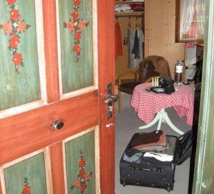 Eingang Zimmer 12 Hotel Emer Hof