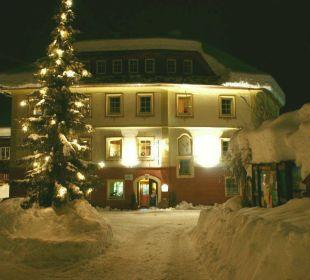 Winter im Döllacher Dorfwirtshaus Hotelchen Döllacher Dorfwirtshaus